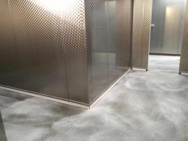 devafloor pose d 39 un sol coul base d 39 acrylate. Black Bedroom Furniture Sets. Home Design Ideas