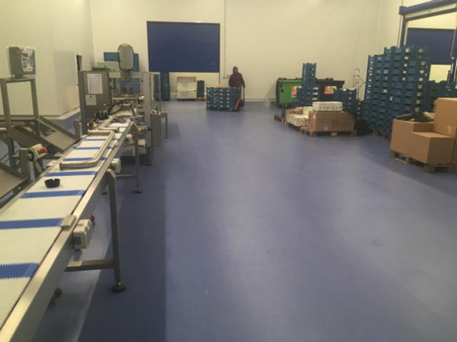 Nouveau sol industriel pour le groupe A. De Witte - 1